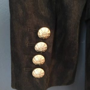 Escada Jackets & Coats - Vintage Escada Margaretha Ley Blazer Leopard Print